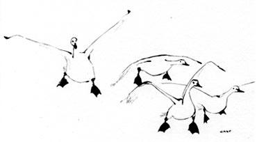 tekening voor meester die weg gaat